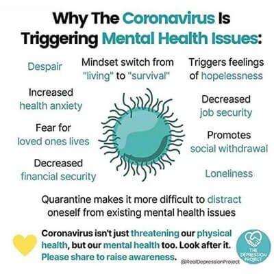 COVID 19 အတွက် စိတ်ပိုင်းဆိုင်ရာအရ ဘယ်လိုပြင်ဆင်ထားသင့်သလဲ